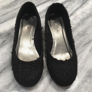 Seychelles Black Wedge Shoes Low Heel